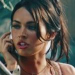 Megan Fox Screen Caps From Transformers 2