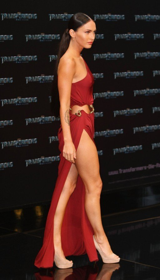 Megan Fox Was Super Excited At Transformers Premiere