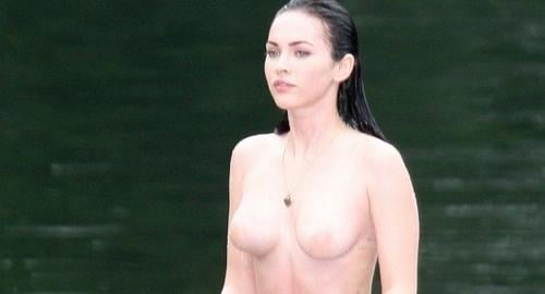 Megan Fox Topess Pictures 45