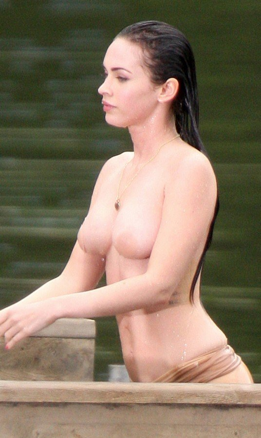 Megan fox swimming nude remarkable, very