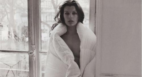 Milla Jovovich Totally Naked For Purple Magazine