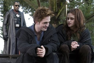 Blade shows up to end the vampires from twilight