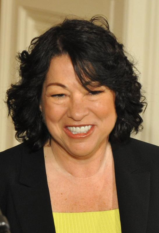 Sexy sonia sotomayor shots for Sonia sotomayor coloring page