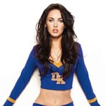 Megan Fox in a Cheerleader's outfit from Jennifer's Body