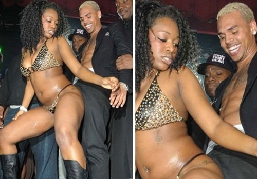 Chris Brown stripper