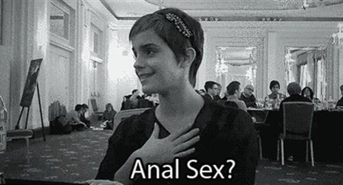 Emma Watson anal