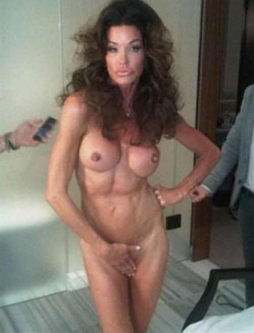 Janice dickinson peta nude
