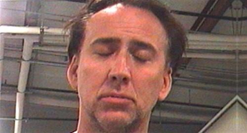 Nicolas Cage arrest