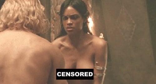 Rosario dawson hot boobs