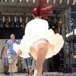Ariana Grande Upskirt Pic