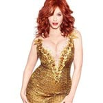 Christina Hendricks Shows Off Her Breeding Potential