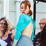 Emma Stone Sinful Ginger Sideboob