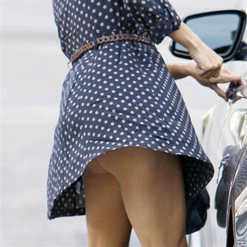 Eva Longoria Upskirt Butt Flash