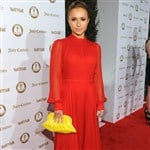 Hayden Panettiere Wears Stylish Red Burka