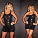 Hayden Panettiere Photographed Undressing