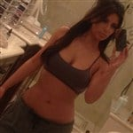 Kim Kardashian Offends In A Sports Bra