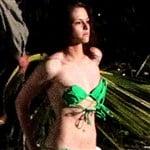 Kristen Stewart Twilight Green Bikini Pics