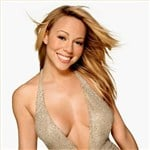 Mariah Carey Smells Her Boobs