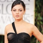 Mila Kunis Wears A See Through Dress