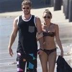 Miley Cyrus Bikini Beach Pic