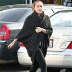 Miley Cyrus Wears Sexy Wool Burka