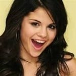 Selena Gomez Catches A Load In Her Mouth