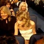Taylor Swift Upskirt Panty Flash On TV