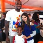 LeBron James Secretly Dating Nickelodeon's Victoria Justice