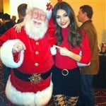 Santa Caught Grabbing Victoria Justice's Ass