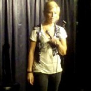 Heidi Montag's Sister Performing Stand-Up Comedy Video