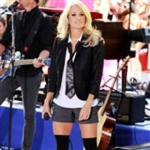 Carrie Underwood Is A Slut Dressed As A Naughty School Boy