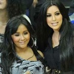 Snooki and Kim K Get Together for Meeting of the Minds