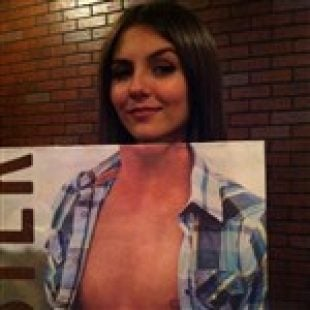 Victoria Justice Topless Pic