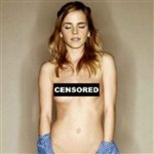 Emma Watson Closes Eyes For Naked Pic