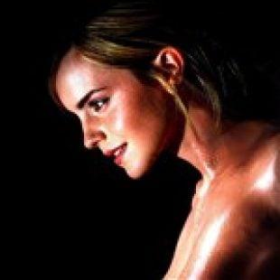 Emma Watson Shows Off Her Sweaty Tits