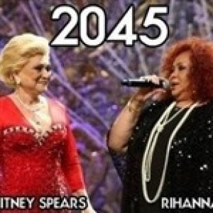 Pop Stars In The Year 2045