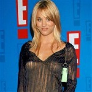 Kaley Cuoco See Through Nips