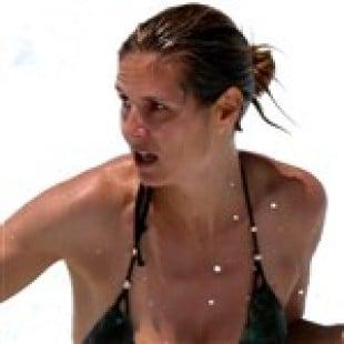 Heidi Klum Slips A Nipple While Drowning Her Nanny