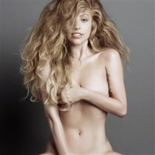 Lady Gaga's Natural Look In New Nude Photo