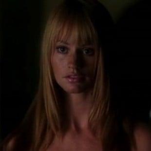 Cameron Richardson Topless Scene From 'Rise: Blood Hunter'