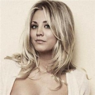 Kaley Cuoco Poses Completely Topless