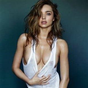 Miranda Kerr Naked In The New Issue Of GQ