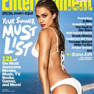 Jessica Alba In A Bikini On The Cover Of Entertainment Weekly