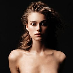Topless Miley Cyrus Completely Nude Gif