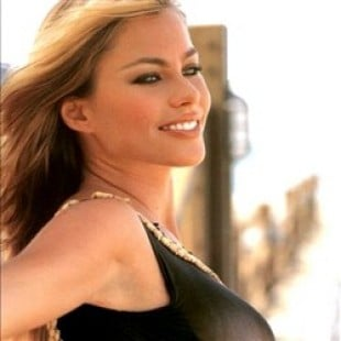 Young Sofia Vergara In A See Thru Swimsuit