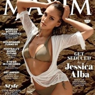 Jessica Alba In The September 2014 Issue Of Maxim