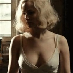 jennifer lawrence nips out in new film serena