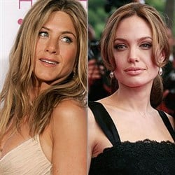 Consider, that Angelina jolie jennifer aniston porn improbable