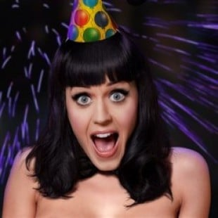 Katy Perry's Wild Nude New Year Celebration