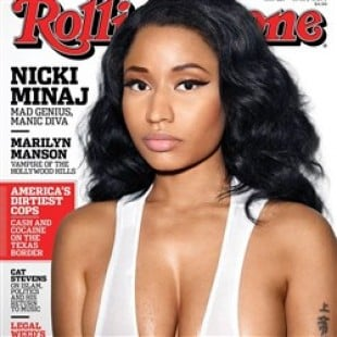 Nicki Minaj's Sweaty Tits On The Cover Of Rolling Stone